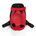 Chat Chien Sac de transport Sac à dos avant Dog Paquet Animaux de Compagnie Transporteur Ajustable/Réglable Portable Pliable Respirable