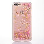 Case For iPhone 7 Plus 7  Case Cover Star Pattern Flowing Liquid Glitter Soft TPU Materia Phone Case 6S Plus 6Plus 6S 6