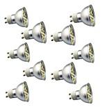 3W GU10 Lâmpadas de Foco de LED 29 SMD 5050 350 lm Branco Quente Branco Frio 3000-7000 K Decorativa AC220 V
