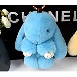 Сумка / телефон / брелок шарм кролик мультфильм игрушка рекс кролик мех 18см