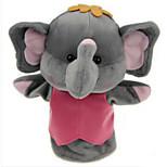 Peluches Poupées Jouet Educatif Marionnette de Doigt Jouets Rabbit Eléphant Ours Tiger Animaux Enfant Pièces