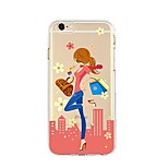 Case For IPhone 7 6  Sexy Lady TPU Soft Ultra-thin Back Cover Case Cover iPhone 7 PLUS 6 6s Plus SE 5s 5 5C 4S 4