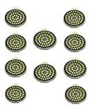 3W GU10 Точечное LED освещение 48 SMD 2835 500 lm Тёплый белый Холодный белый 3000-7000 К Декоративная AC 12 V