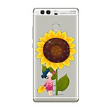 Case for Huawei P8 Lite2017 P10 Cover Transparent Case Sunflower Soft TPU for P10 Lite P10 Plus P9 Plus P9 Lite P9 P8 Lite P8 Mate9 Pro Mate9 Mate8