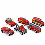 Vehicle Toy Cars Fire Engine Vehicle Toys Unisex Pieces