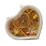 Music Box Toys Heart-Shaped Plastics Romantic Pieces Unisex Valentine's Day Gift