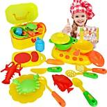 Игрушка кухонные наборы Игрушка Посуда и чайные сервизы Детская техника Кулинария Игрушки Игрушки Мальчики Девочки 16 Куски
