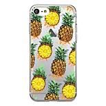 Для iphone 7plus чехол для крышки прозрачный узор задняя крышка чехол плитка фрукты ананас мягкий tpu для iphone 7 6splus 6plus 6s 6 5 5s