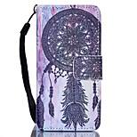 Caso para ipod touch 5 touch 6 estojo de capa porta-carteira com suporte flip pattern estojo de corpo cheio coletor de sonhos hard pu
