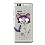 Case for Huawei P8 Lite2017 P10 Cover Transparent Case Cat Soft TPU for P10 Lite P10 Plus P9 Plus P9 Lite P9 P8 Lite P8 Mate9 Pro Mate9 Mate8