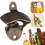 Abridor de cerveja de parede metal retro parede de acessórios para garrafas abridor de garrafas de cozinha --1pcs