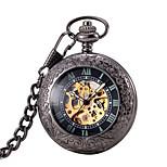 Муж. Жен. Карманные часы С автоподзаводом Защита от влаги Фосфоресцирующий сплав Группа Бронза