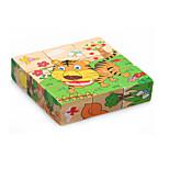3D пазлы Обучающая игрушка Пазлы Игрушки Tiger Friut Животные Не указано Детские Куски