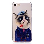 Case For Apple Iphone 7 7 Plus Case Cover Cat Pattern TPU Material IMD Craft Mobile Phone Case For Iphone 6 6S 6 Plus 6S Plus