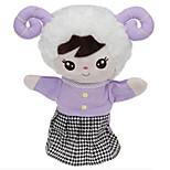 Peluches Poupées Jouet Educatif Marionnette de Doigt Jouets Rabbit Mouton Ours Tiger Animaux Enfant Pièces