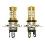 Sencart 2pcs H4 P43T Flashing Bulb Led Car Tail Turn Reverse Light Bulb Lamps(White/Red/Blue/Warm White) (DC/AC9-16V)