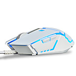 Ajazz GTC 3050 7Keys 4000DPI USB Backlight Aggravating Mouse With 170CM Cable