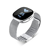 HHHYP2 Bluetooth Heart Rate Blood Pressure Motion Meter Step Waterproof Smart Bracelet Support Call Information Reminder Android IOS System