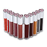Professional New 10 Full Color Liquid Paint Lip Gloss Lipsticker Pigment Lip Care Beauty Set