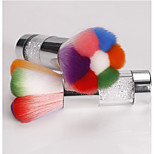 1PC 7 Color Drill Pipe Dust Brush
