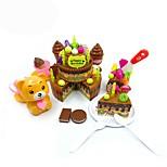 Набор для творчества Обучающая игрушка Игрушка кухонные наборы Игрушка Foods Детская техника Кулинария Игрушки Игрушки Friut Своими руками