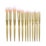 High Qaulity 12pcs Pro Makeup Brushes Set Blending Eyeshadow Foundation Luxury Cosmetic Brush Heart-Shaped Rose Gold
