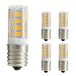 4W LED Corn Lights T 52 SMD 2835 360 lm Warm White 2800-3500 K AC 110 V