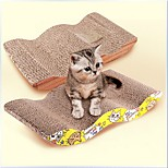 Игрушка для котов Игрушки для животных Кошачья приманка Когтеточка Бумага