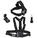 Chest Harness Front Mounting Breathable Easy dressing Wearproof Easy Carrying For All Gopro SJCAM Recreational Cycling Hiking Climbing