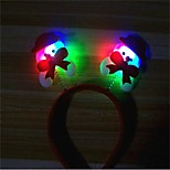 cheap -1Pcs   Christmas Decoration Items Christmas Light Head Band Hairpin Design Is Random