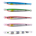 5 pcs Fishing Lures Metal Bait g/Ounce,60 mm/2-3/8