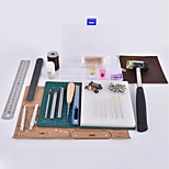 Crab Kingdom® DIY Handmade Leather Tools kit Simple Type Assembly by Yourself