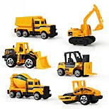 Pull Back Car/Inertia Car Vehicle Toy Cars Construction Vehicle Toys Unisex Pieces