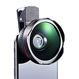 Cherllo 026 Phone Lens Wide-Angle Lens Macro Lens Aluminum 12.5X  56mm Cell Phone Camera Lenses Kit for Samsung Android Smartphones iPhoned