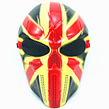 cheap -Halloween Creative Skull Scary Ghost Mask Wargame Chief Tactical CS Cosplay Camouflage Union Jack Knight Mask Carnaval Masquerade Party Costume Prop