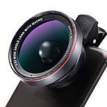 LIEQI LQ-025 Mobile Phone Lens 132 Wide-Angle Lens 10X  Macro Lens 58MM
