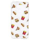 Кейс для lg g6 кейс покрытие гамбургеры рисунок высокий проникновение tpu материал царапина phone кейс