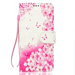 Case For Sony Xperia XZ XA1 Flower Pattern 3D PU Wallet Leather Card Holder with Hand Strap for Sony Xperia XA Ultra E5 XA