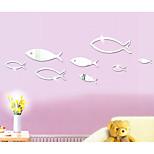 Геометрия абстракция 3D Наклейки Простые наклейки 3D наклейки Зеркальные стикеры Декоративные наклейки на стены 3D,Акрил материал