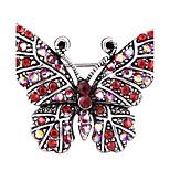 Жен. Броши Стразы Животный дизайн Сплав В форме животных Бабочка Бижутерия Назначение Для вечеринок Повседневные