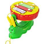 Music Toys Toy Instruments Toys Snail Drum Set Toys Plastics Pieces Kids' Gift