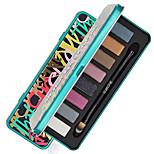8 Color in 1 Palette, 2 Color Palette Select Палитра теней Сухие Матовое стекло Отблеск Палитра теней порошок Повседневный макияж Макияж