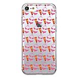 Для iphone 7plus чехол для крышки прозрачный узор задняя крышка чехол для плитки мягкий tpu для iphone 7 6splus 6plus 6s 6 5 5s se