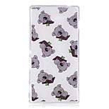 Чехол для sony m2 xa чехол для крышки коала шаблон tpu материал imd craft мобильный телефон кейс