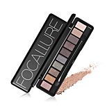 10 Colors Set Women Waterproof Makeup Eyeshadow Palette Eyebrow Eye Shadow Powder Cosmetic With Brush