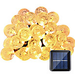 HKV® Solar Lamps 6M 30LED Waterproof Fairy Outdoor Garden Christmas Party Decoration String Light
