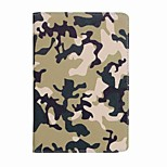 For Case Cover Card Holder Camouflage Color Pattern Full Body Case Camouflage Color Hard PU Leather for iPad Mini 4 Mini 3/2/1