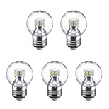 3W E27 LED Globe Bulbs G45 24 SMD 2835 250 lm Warm White Cold White 6500 K 220 V