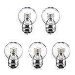 3W E27 Круглые LED лампы G45 24 светодиоды SMD 2835 Тёплый белый Холодный белый 250lm 6500K 220V