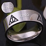 cheap -The Deathly Hallows triangle the Hallows stainless steel ring and hot Deathly
